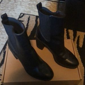 Black H&M ankle boots